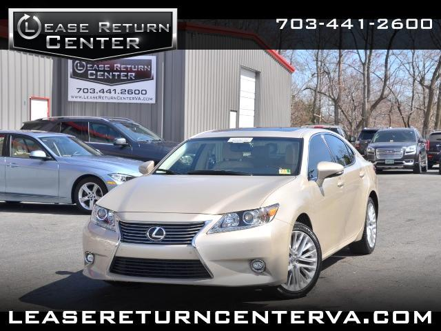 2015 Lexus ES 350 Ultra Sports Package With Navigation System