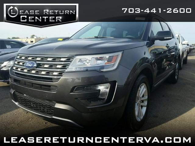 2016 Ford Explorer XLT With Leather Interior