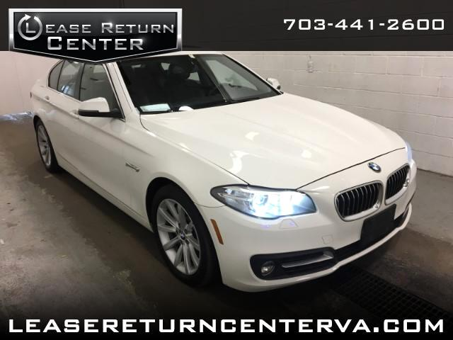 2015 BMW 5-Series 535 xDrive Premium Package With Navigation System