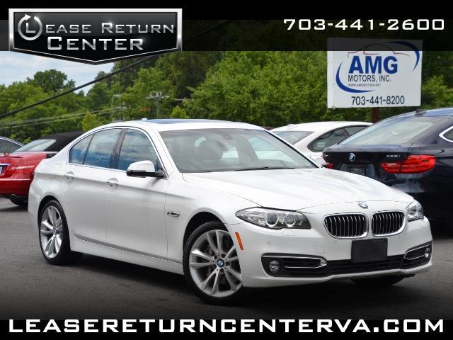 2014 BMW 5-Series 528i With Navigation