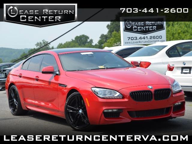 2014 BMW 6-Series Gran Coupe 650i Msport Package