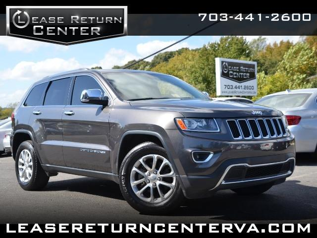 2014 Jeep Grand Cherokee Limited With Navigation