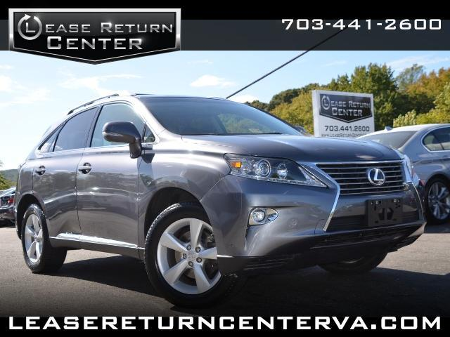 2015 Lexus RX 350 AWD With Navigation System