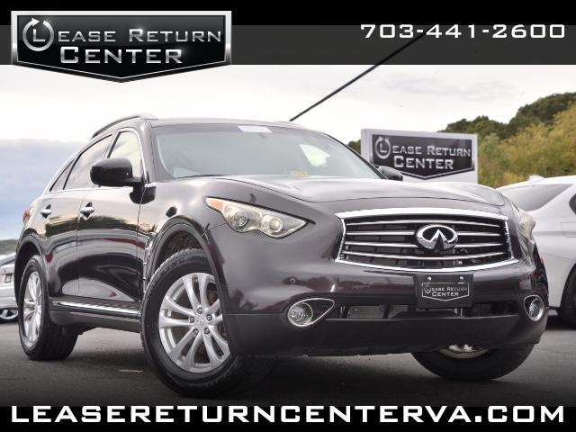 2012 Infiniti FX FX35 With Navigation