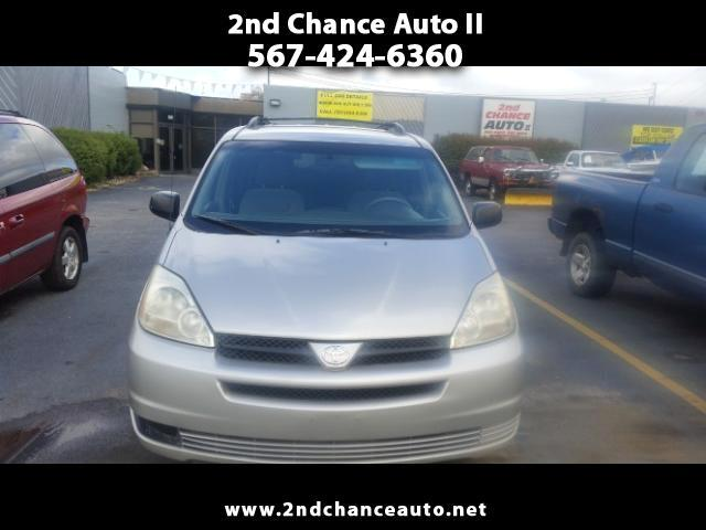 2005 Toyota Sienna 5dr 7-Pass Van LE AAS FWD (Natl)