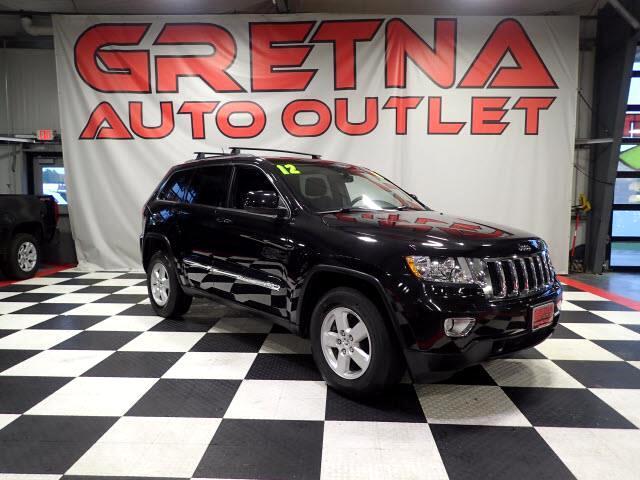 2012 Jeep Grand Cherokee LAREDO AUTO 4X4 LOW MILES V6 85K MOONROOF LOADED!