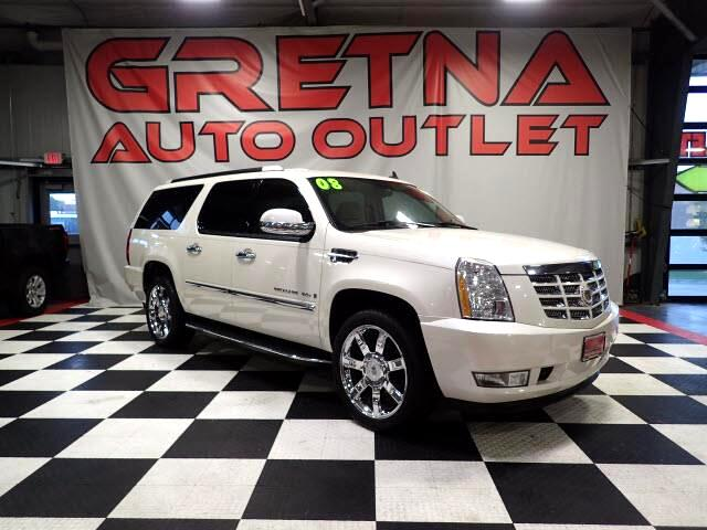 2008 Cadillac Escalade ESV AWD HEATED/COOLED SEATS NAV/CAM ROOF REAR DVD!