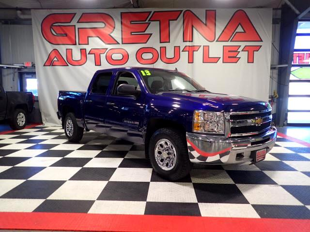 2013 Chevrolet Silverado 1500 1 OWNER LS CREW 4X4 AUTO V8 SEATS 6! GREAT TIRES!
