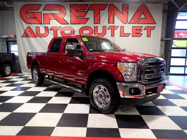 2015 Ford F-250 SD LARIAT CREW CAB 4X4 AUTO 6.2L V8 NAV H/C LEATHER!
