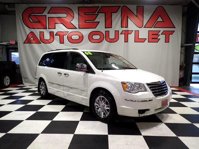 2008 Chrysler Town & Country LIMITED AUTO V6 HEATED LEATHER MOONROOF LOADED!