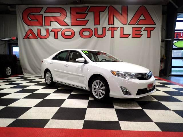 2014 Toyota Camry 1 OWNER XLE HEATED LEATHER MOONROOF 43K!!