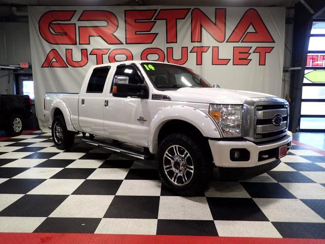 2014 Ford F-250 SD PLATINUM CREW POWER STROKE TURBO DIESEL 4X4 116K!