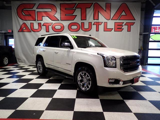 2015 GMC Yukon SLT 4X4 NAVIGATION/CAMERA H/C LEATHER ROOF BLUERAY