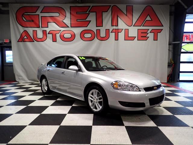 2016 Chevrolet Impala Limited 1 OWNER LTZ LIMITED HEATED LEATHER BOSE ONLY 43K!
