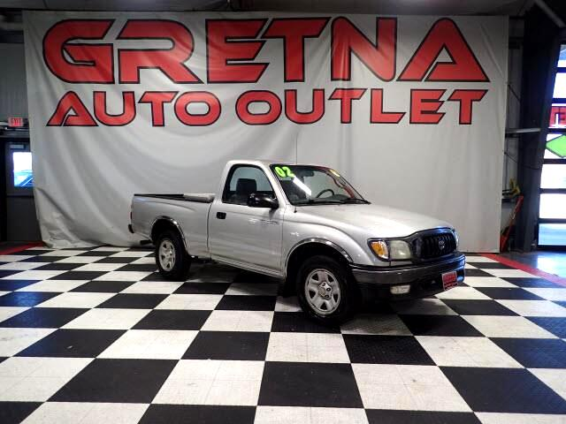 2002 Toyota Tacoma PRERUNNER REGULAR CAB 5 SPEED MANUAL W/ TOOLBOX