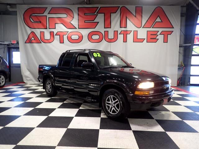 2002 Chevrolet S10 Pickup LS ZR5 CREW CAB 4X4 HEATED LEATHER 4.3L AUTO V6!