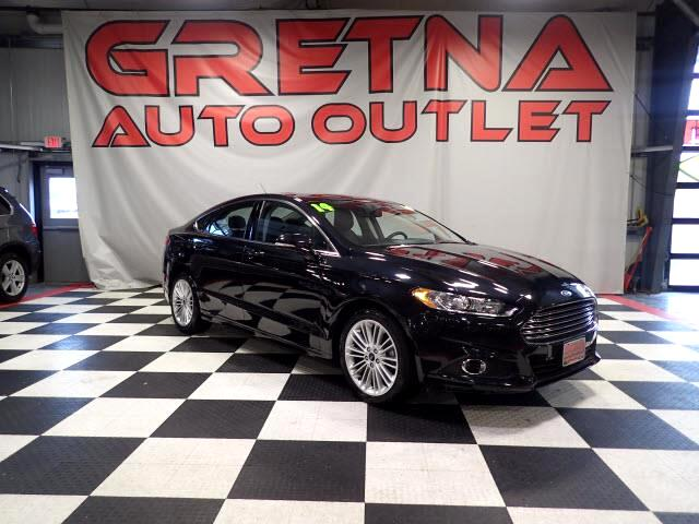 2014 Ford Fusion SE ECOBOOST HEATED LEATHER MOONROOF ONLY 59K!