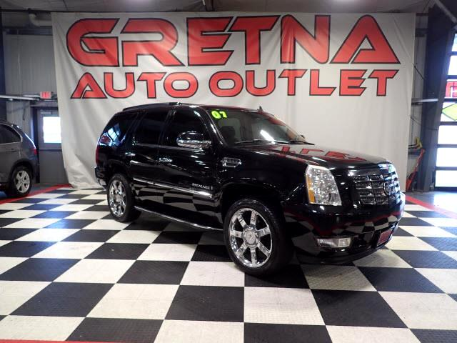 2007 Cadillac Escalade AWD HEATED/COOLED LEATHER NAV/CAM ROOF PWR ALL!