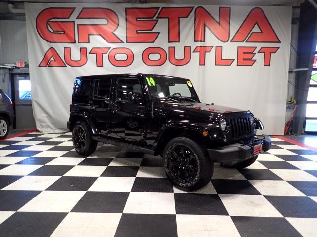 2014 Jeep Wrangler UNLIMITED SAHARA 4X4 HEATED LEATHER HARDTOP 45K!