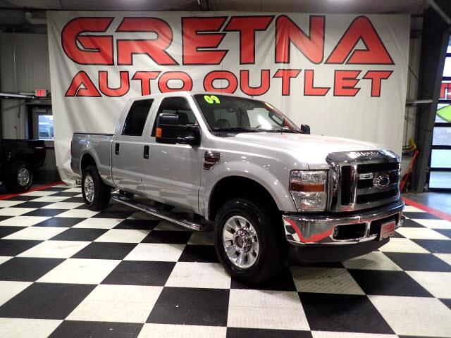2009 Ford F-250 SD LARIAT CREW 4X4 AUTO TURBO DIESEL 95K LEATHER ROOF