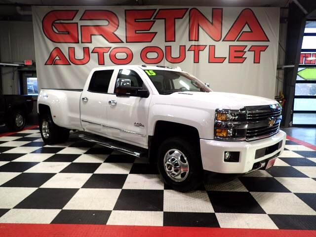 2015 Chevrolet Silverado 3500HD 1 OWNER HIGH COUNTRY LTZ DUALLY DIESEL 4X4 LOADED!