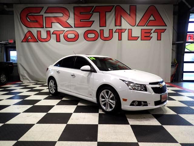 2014 Chevrolet Cruze RS LTZ AUTO HEATED LEATHER MOONROOF BACK CAM 72K!