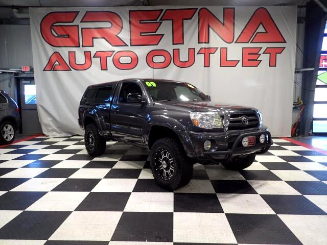 2009 Toyota Tacoma REGULAR CAB TRD OFF ROAD 4X4 MATCHING TOPPER!