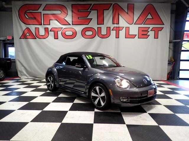 2013 Volkswagen Beetle 1 OWNER TURBO CONVERTIBLE HEATED LEATHER ONLY 28K!