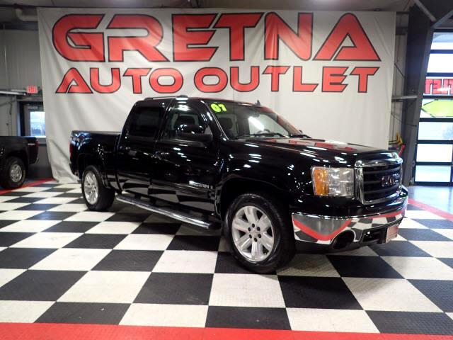 2007 GMC Sierra Classic 1500 SLT CREW 4X4 HEATED LEATHER ROOF REAR DVD ONLY 60K