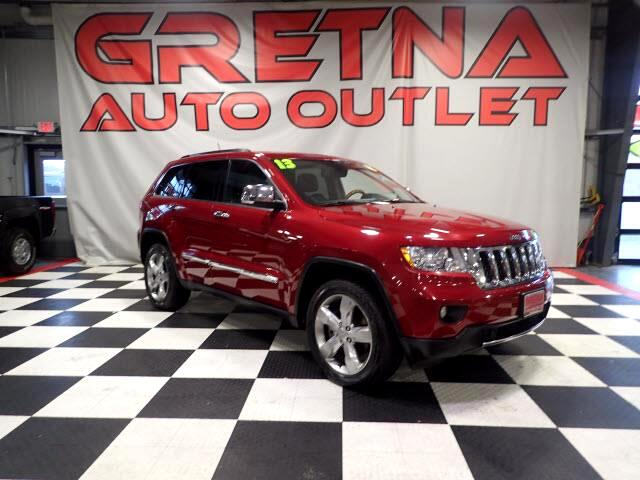2013 Jeep Grand Cherokee OVERLAND 4X4 AUTO HEMI V8 HEATED ALL NAV/CAM ROOF!