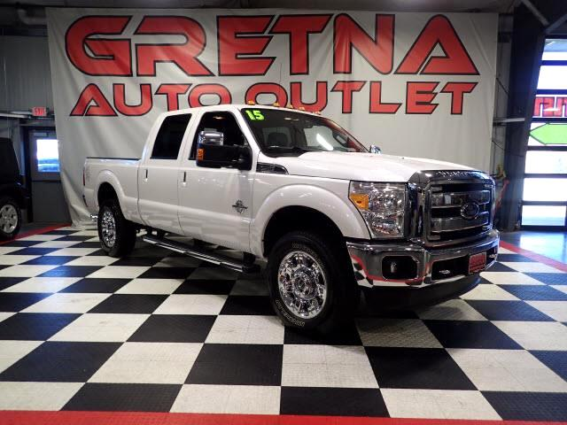 2015 Ford F-250 SD LARIAT POWER STROKE DIESEL 4X4 H/C LEATHER LOADED!