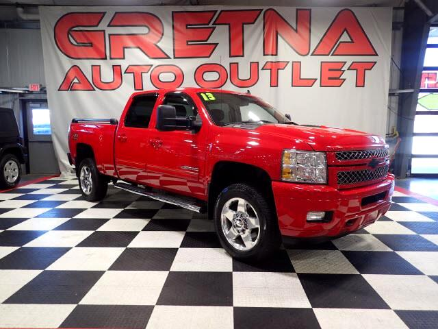 2013 Chevrolet Silverado 2500HD LTZ DURAMAX TURBO DIESEL 4X4 89K H/C LEATHER CREW!