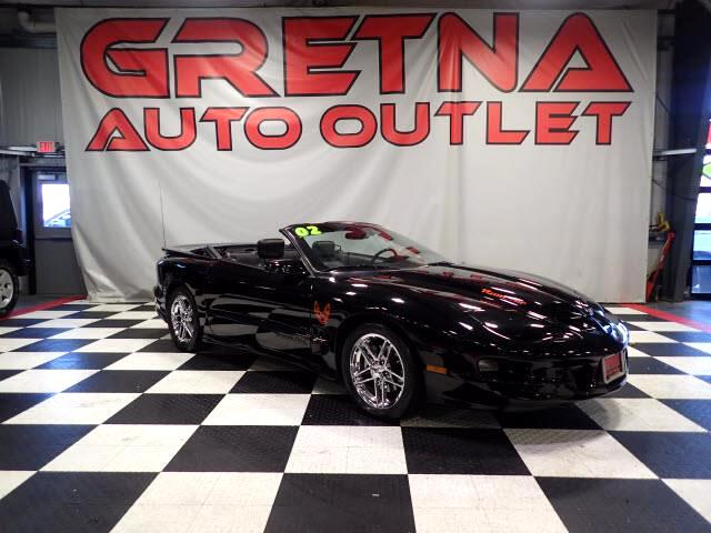2002 Pontiac Trans Am WS6 CONVERTIBLE 5.7L V8 LEATHER LOW MILES ONLY 70K