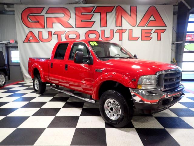 2003 Ford F-350 SD 1 OWNER XLT CREW AUTO V10 4X4 IMMACULATE TRUCK!
