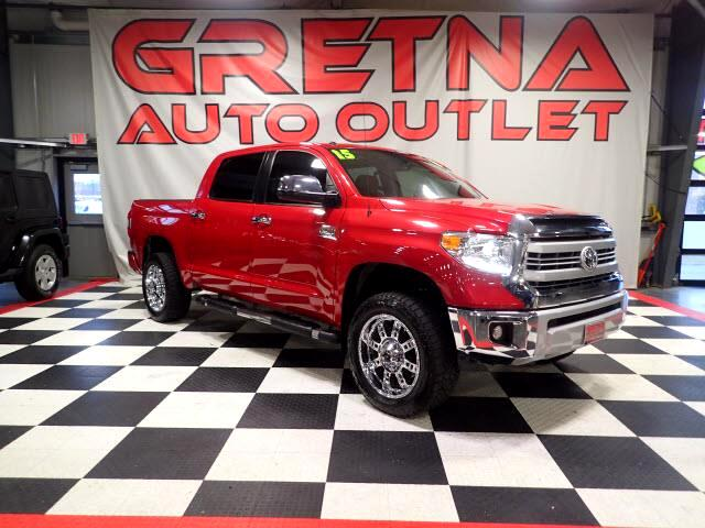 2015 Toyota Tundra 1794 EDITION CREWMAX 4X4 H/C LEATHER MOONROOF 55K!