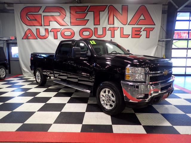 2012 Chevrolet Silverado 3500HD LTZ CREW 4X4 LONG BOX HEATED LEATHER DURAMAX!