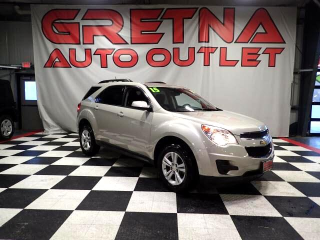 2015 Chevrolet Equinox 1 OWNER LT AUTO AWD LOW MILES ONLY 81K LOADED!