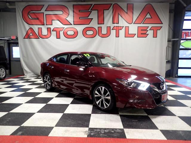 2017 Nissan Maxima AUTO 3.5L S FULLY LOADED NAVIGATION BLUETOOTH 48K!