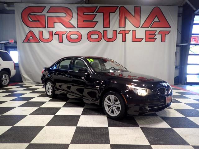2010 BMW 5-Series 1 OWNER 528XI AWD NAV HEATED LEATHER ROOF 67K!