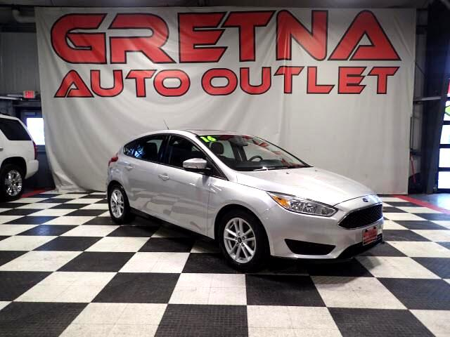 2016 Ford Focus SE HATCHBACK LOADED 45K BLUETOOTH MOONROOF!