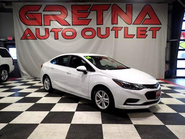 2016 Chevrolet Cruze SUMMIT WHITE LT AUTO SEDAN LOADED BACK UP CAMERA!
