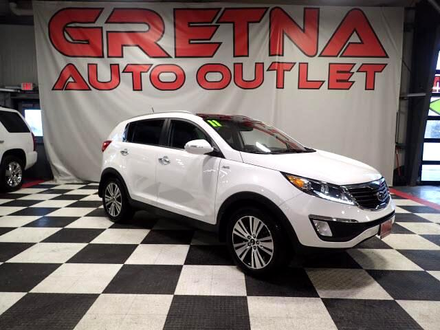 2011 Kia Sportage EX AWD HEATED/COOLED LEATHER MOONROOF ONLY 76K!