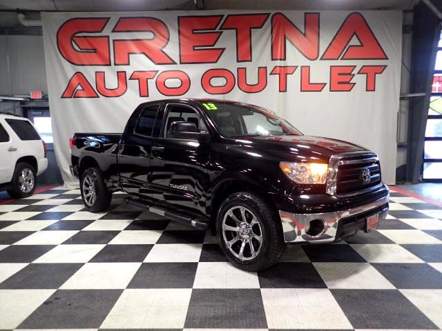 2013 Toyota Tundra 1 OWNER DOUBLE CAB 4X4 AUTO 4.6L V8 LOW MILES 84K!
