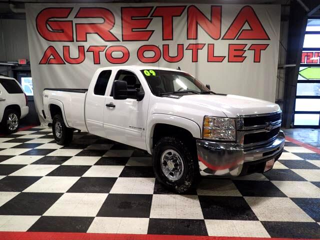 2009 Chevrolet Silverado 2500HD EXT CAB LONG BOX 4X4 6.6L DURAMAX TURBO DIESEL!