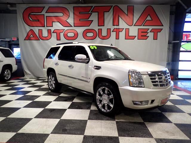 2009 Cadillac Escalade LUXURY AWD NAV/ROOF/PWR BOARDS/REAR DVD/LEATHER!