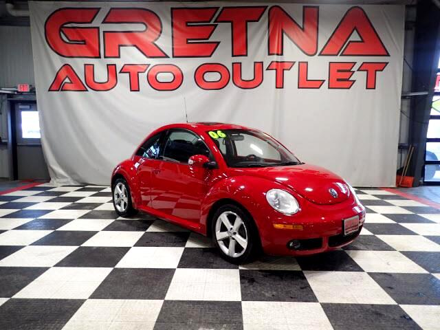 2006 Volkswagen New Beetle AUTO 2.5L LOW MILES 91K HEATED LEATHER MOONROOF!