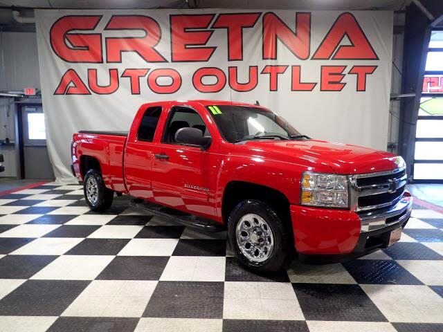 2011 Chevrolet Silverado 1500 VICTORY RED EXTENDED CAB RWD AUTO V8 ONLY 87K!