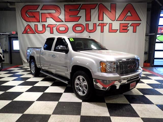 2011 GMC Sierra 1500 SLE CREW 4X4 AUTO 5.3L V8 LEATHER FULLY LOADED 98K