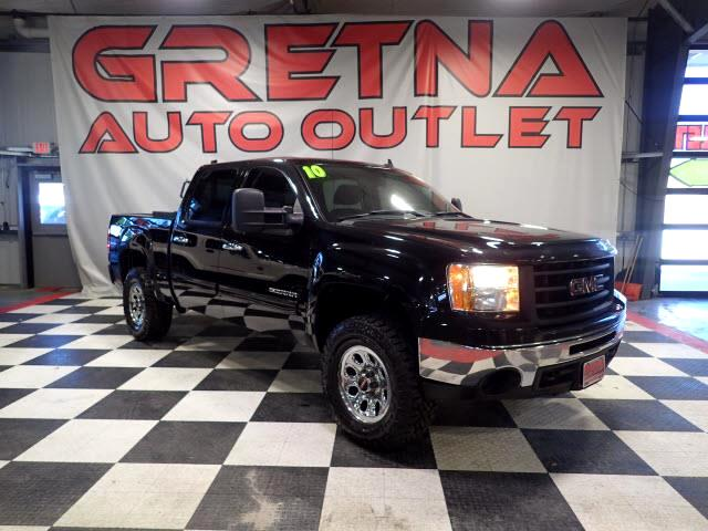 2010 GMC Sierra 1500 SL CREW CAB 4X4 AUTO V8 LOW MILES ONLY 77K LOADED!