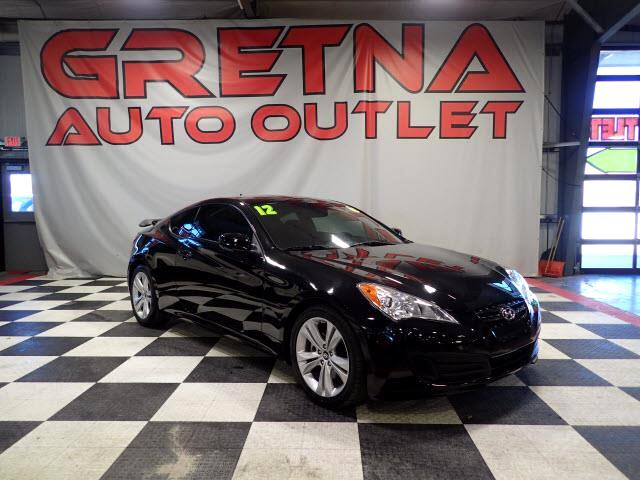 2012 Hyundai Genesis Coupe 2.0T AUTO COUPE LOW MILES 87K MOONROOF LOADED!